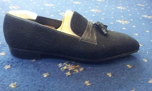 George Cleverley Bespoke tassel loafers