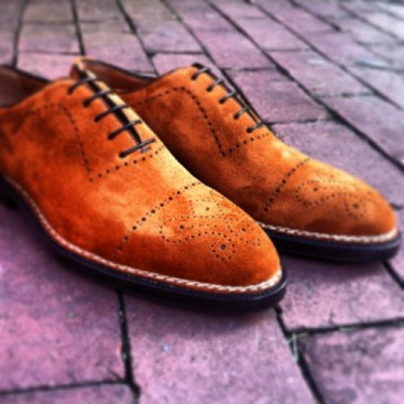 Bontoni Brilliance in Suede