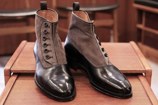Enzo Bonafe Spat Boots at Skoaktiebolaget