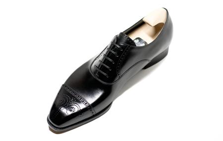 TYE Shoemaker black brogues