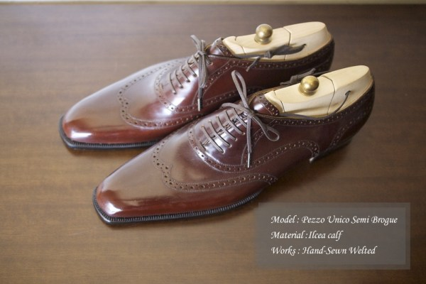 Imitation Full Brogue by Il Quadrifoglio