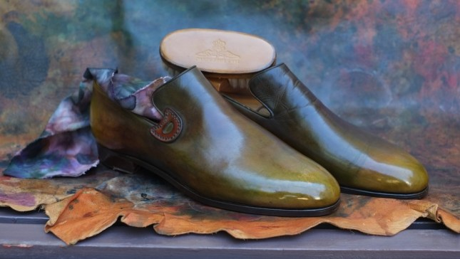 Patina by Dandy Shoe Care....shoes by Unknown (most likely Berluti)