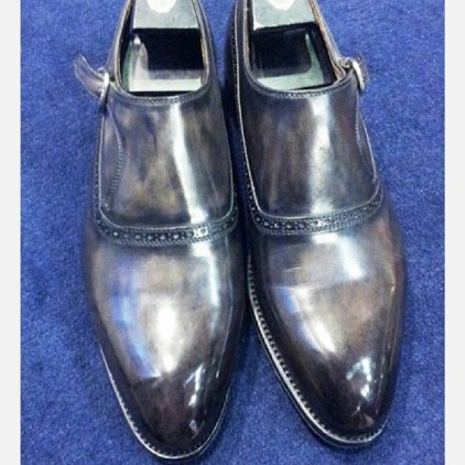 bontoni single monk grey