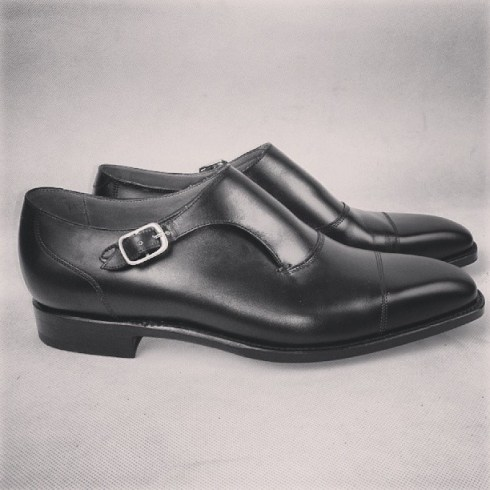j.fitzpatrick single monk shoe