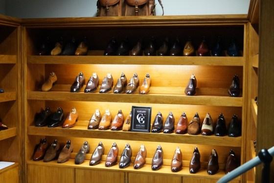 The showroom display