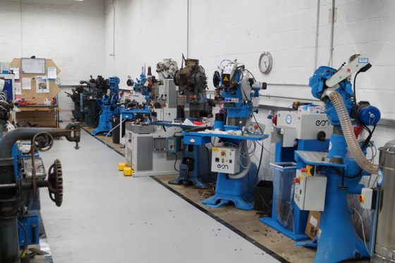 The shoemaking machines