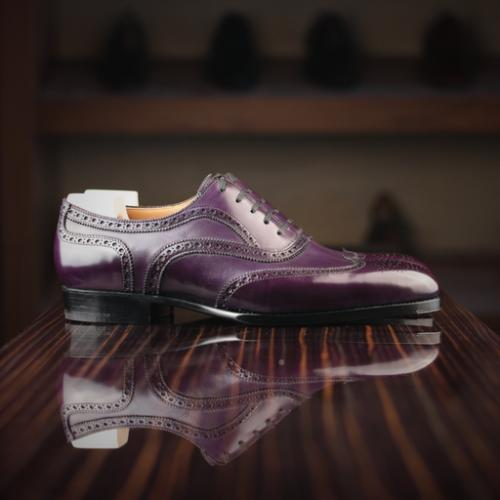 New Saint Crispin Brogues for Leatherfoot - In Bold Colors!
