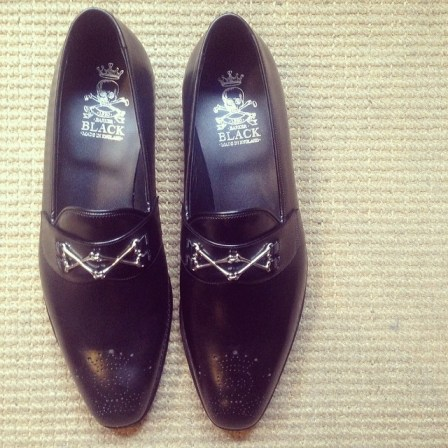 Barker Black loafer black