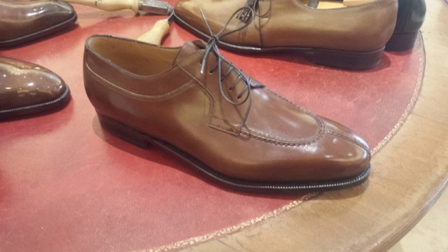 Aubercy shoes apron toe derby