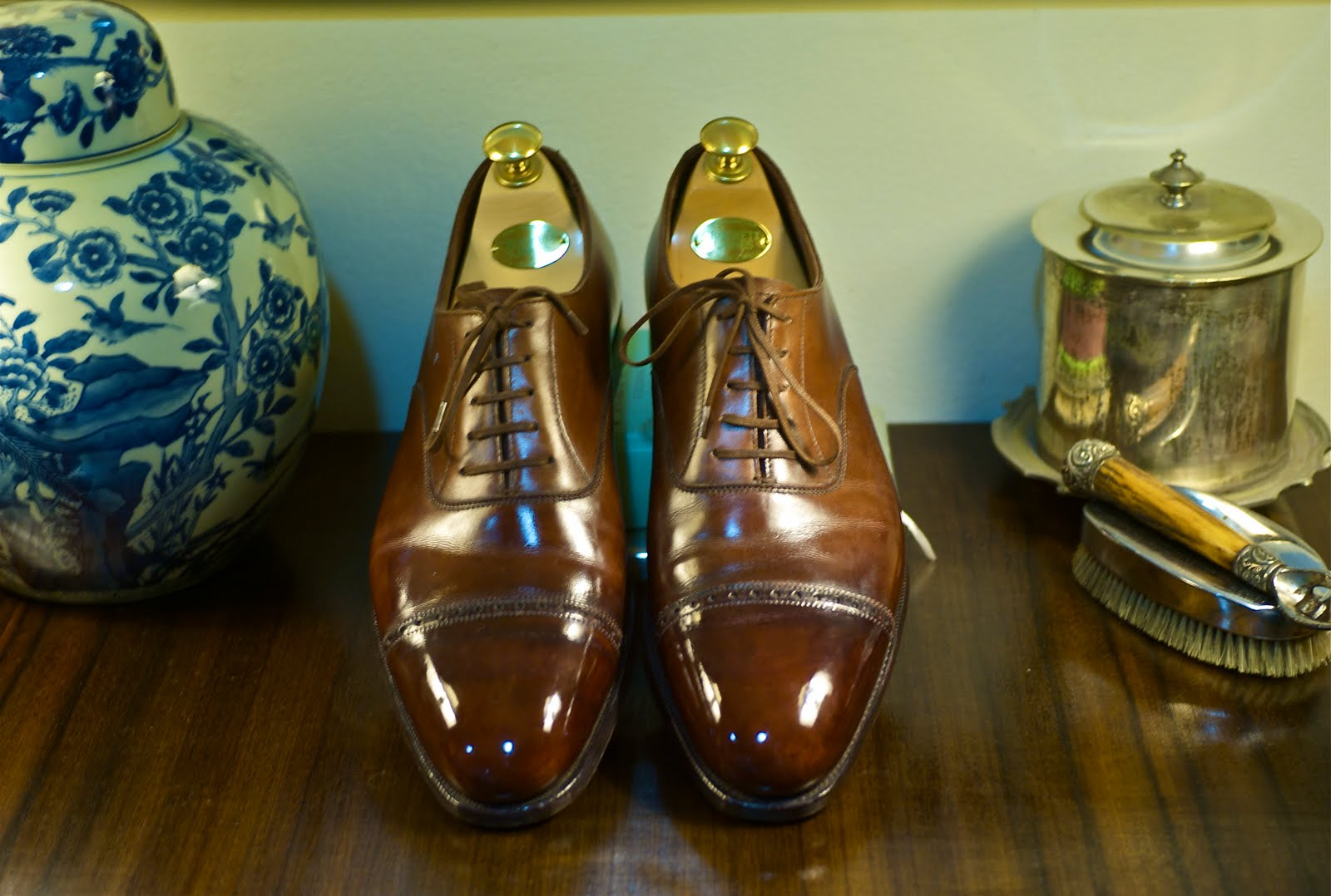 bdd418f8d958f Crockett & Jones Shoe, Brilliant Shine (and picture courtesy) by Rugged Old  Salt