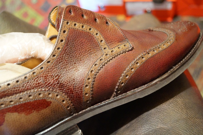 How To Dye Leather Shoes With Rit Dye