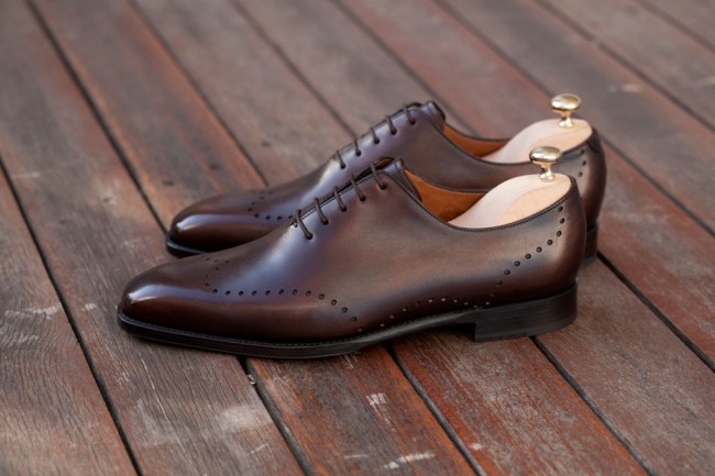 j-fitzpatrick-footwear Tony II antique Brown