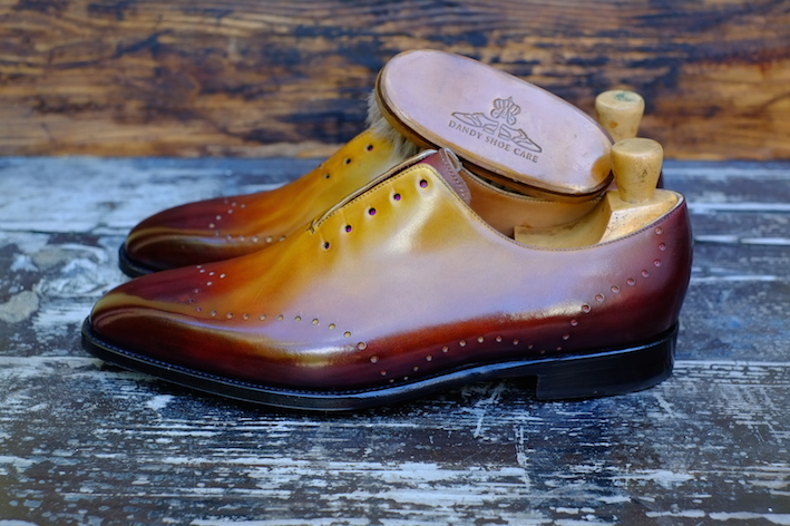 Dandy Shoe Care x J.FitzPatrick