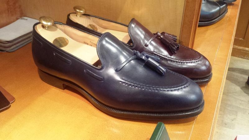 05da6929931 The Cordovan Loafer by Crockett   Jones – The Shoe Snob Blog