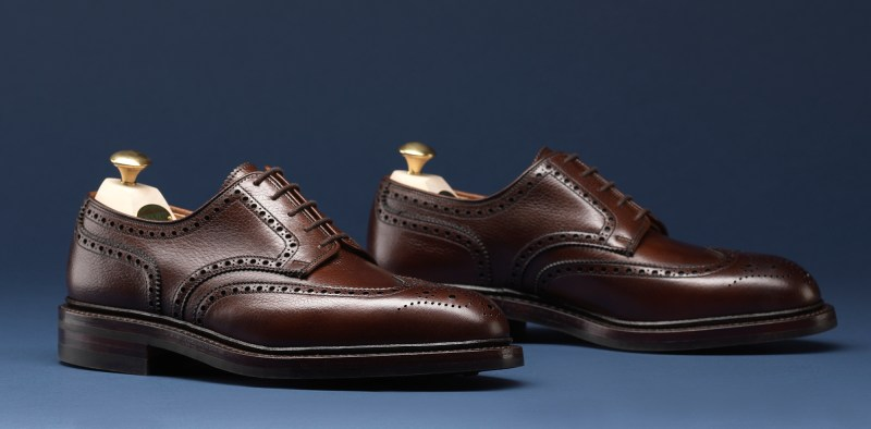 4.Pembroke Dark Brown Scotch Grain - Crockett & Jones AW15