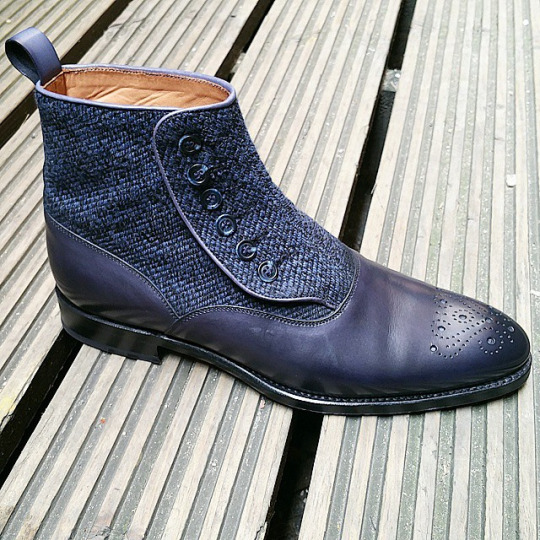 J.FitzPatrick Button Boot