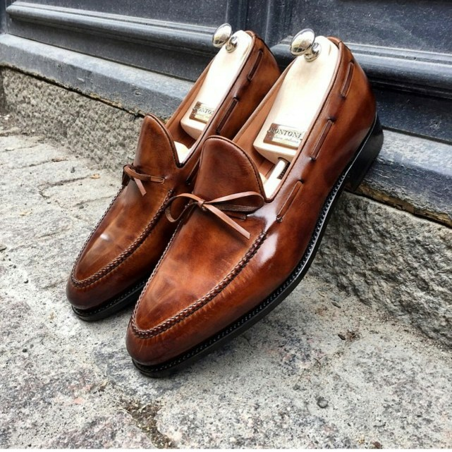 Bontoni String Loafers