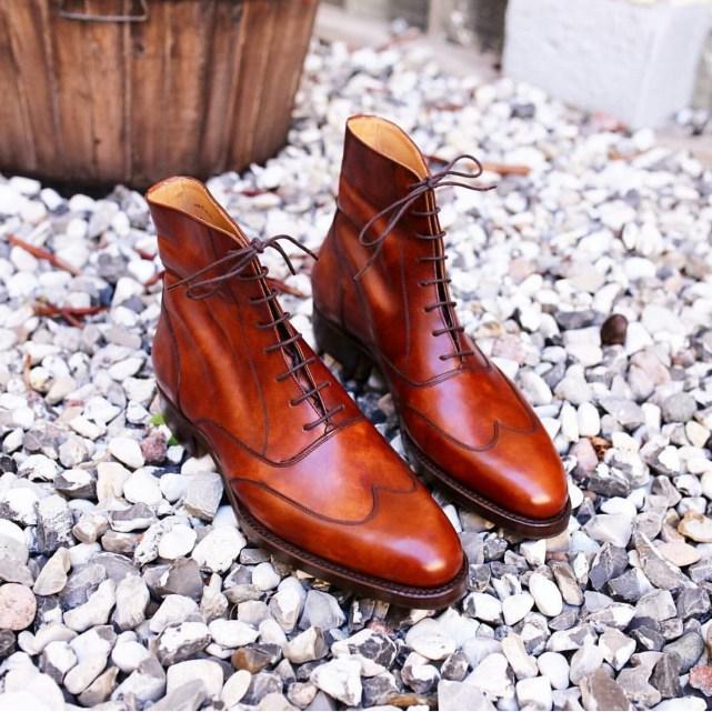 Laszlo Vass oxford boots