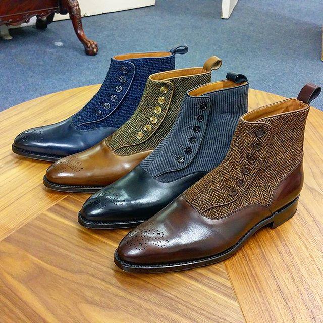 J.Fitz Button Boots