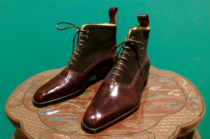 Il Quadrifoglio boots, courtesy of Bespoke Makers