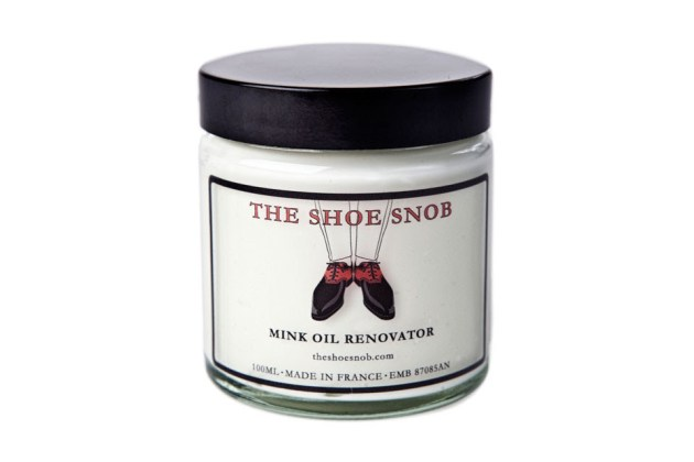 mink oil found at www.theshoesnob.com