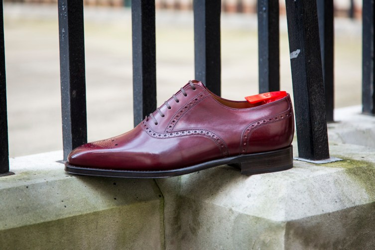 The Wallingford II in Burgundy Calf