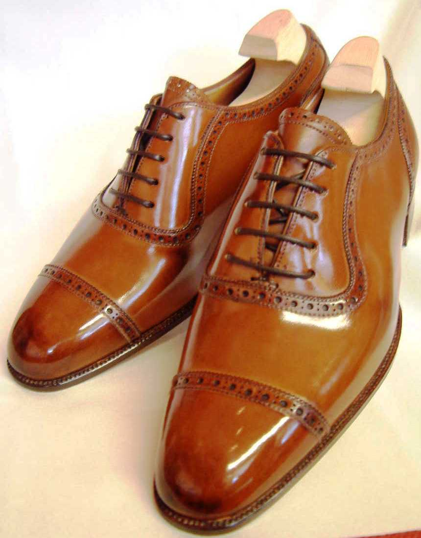 Low Brown Shoes