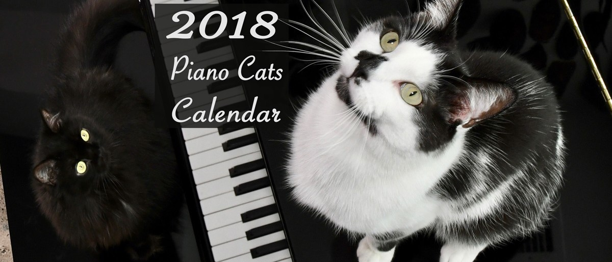 Permalink to: 2018 Piano Cats Calendar Now Available!