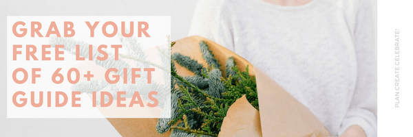 Over 60 Gift Guide Ideas for Online Shops and Bloggers - holiday marketing prep - how to increase holiday sales - prep for the holiday selling season