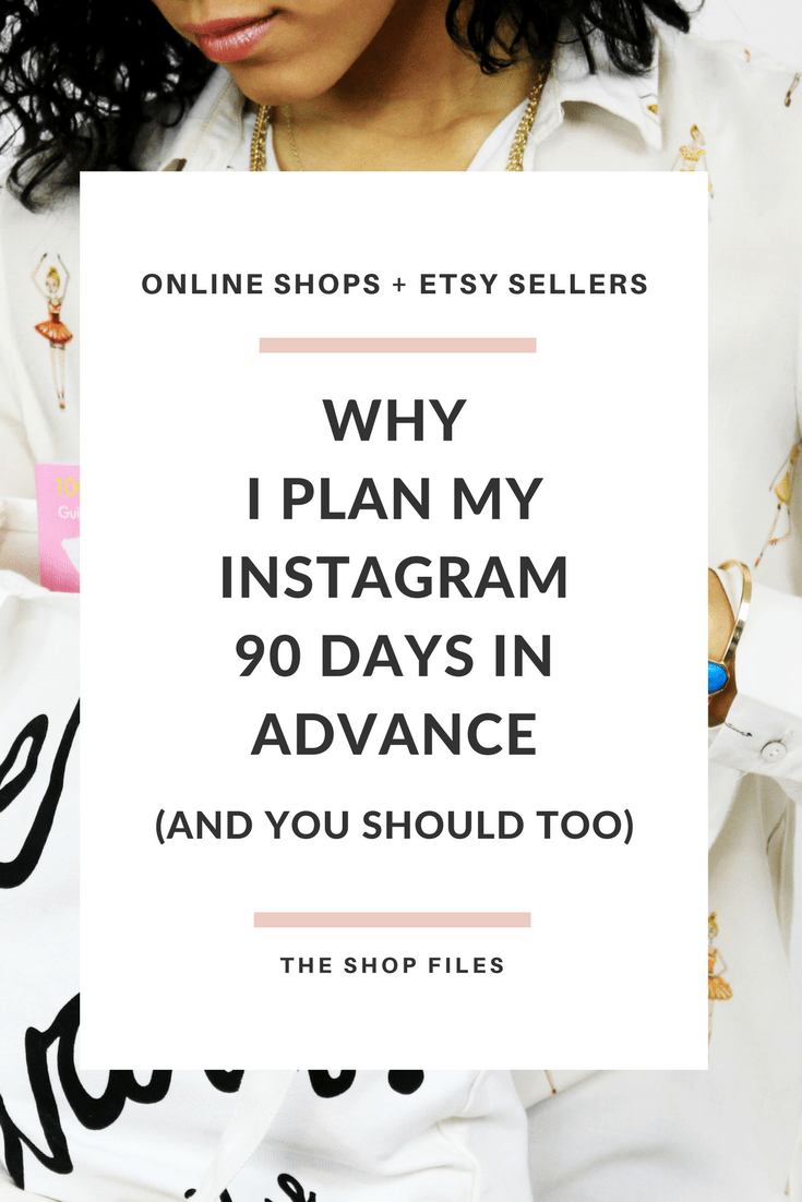 Instagram Content Plan | Planning Instagram Content - Planning Instagram Posts