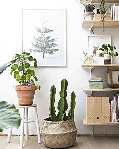instagram photo props seagrass storage basket minimalist