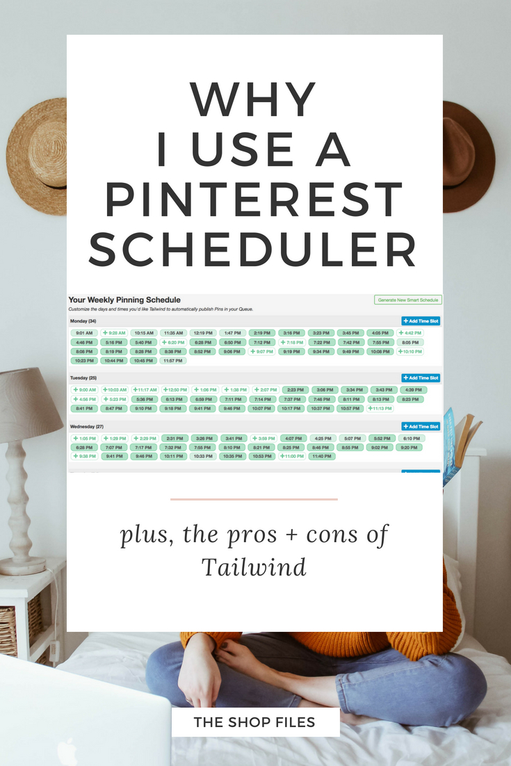 Why I use the Pinterest scheduler Tailwind to grow my website traffic with Pinterest