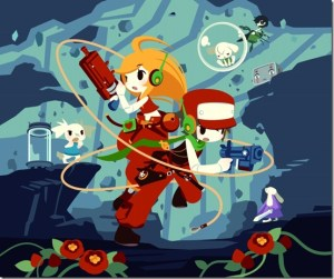 Cave Story illustration square
