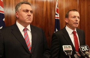 Joe Hockey and Tony Abbott satire