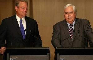 Clive Palmer Al Gore satire