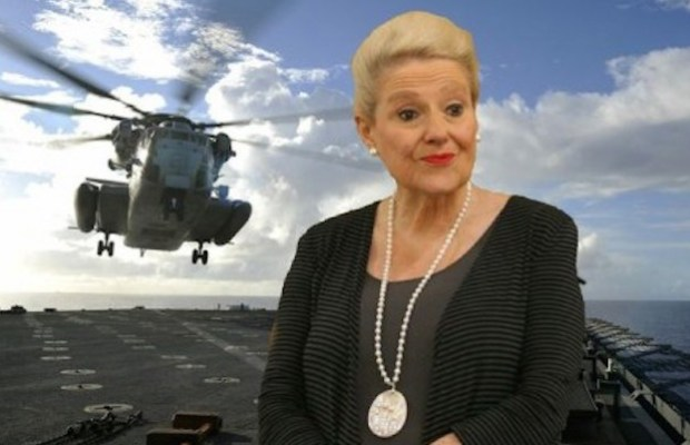 bronwyn bishop helicopter