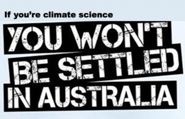 climate science not settled