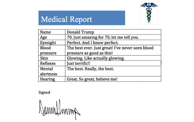 donald-trump-medical-record