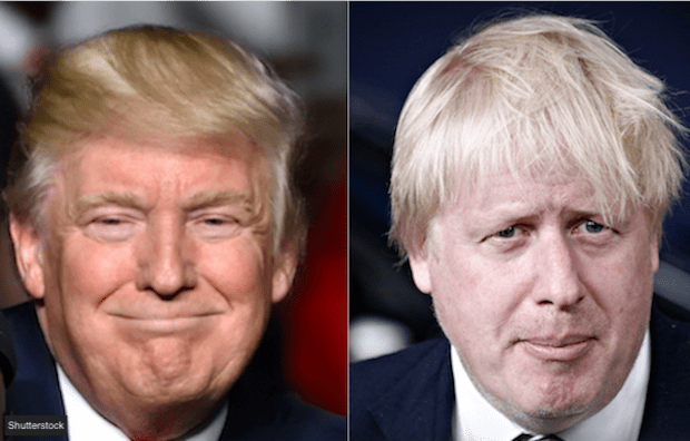 trump and bojo