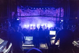 View from the Sound/Light booth