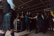 Trampled by Turtles and Bagpipes