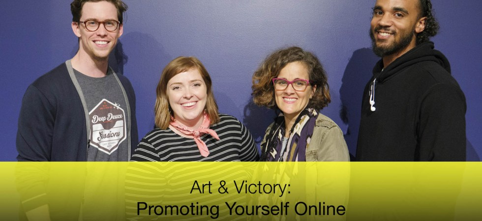 Art & Victory: Promoting Yourself Online