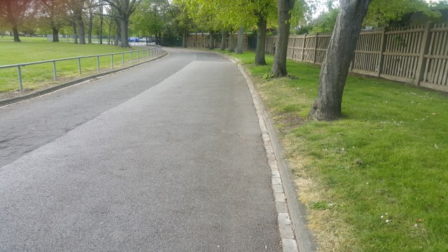 Pathway at Dagenham Central Park