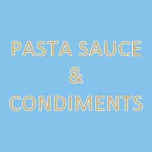 Pasta Sauce and Condiments