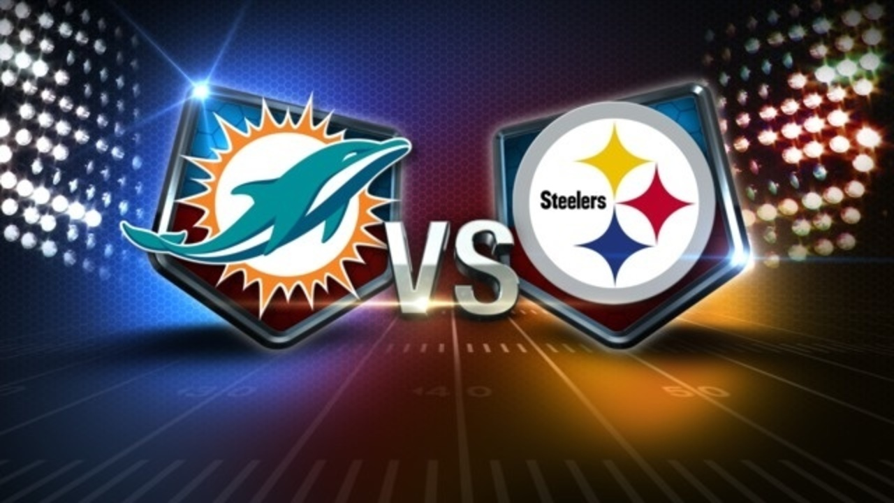 Image result for dolphins vs steelers