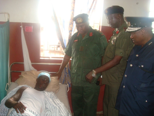 ACHA Kamara & CLAUDE NELSON WILLIAMS VISIT TO MILITARY HOSPITAL