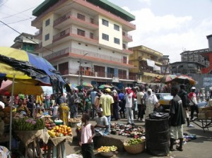 Freetown Market Traders