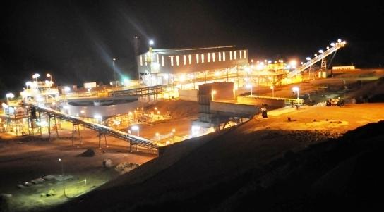 London Mining Company processing plant – marampa