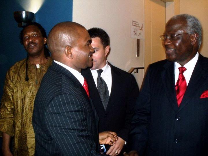 President Koroma – Photo Op – UNGA Sidelines
