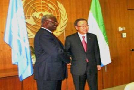 President-Koroma-meets-UN-Ban-Ki-Moon